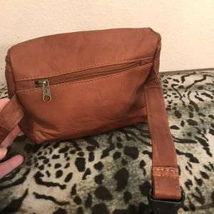 Handbags - Brown Leather fanny pack